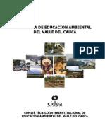 Política departamengtal de Educación Ambiental - Valle del Cauca