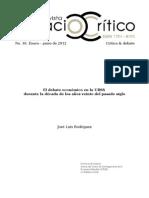 Rodríguez, José Luís - El debate económico en la URSS