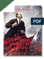 Moshe, Lewin - El último combate de Lenin