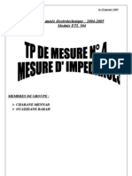 Mesure d'Impedances