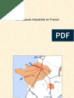 Croquis des espaces industriels en France