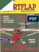 rivista SportFlap febbraio 95