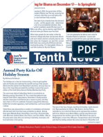 Tenth Dems January Newsletter – Missed the Party? We've Got Photos!