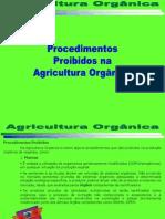 Agricultura Orgânica Procedimentos Proibidos