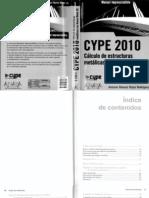 Cype 2010 - Cálculo de estructuras metálicas con nuevo metal 3d. Ed. ANAYA