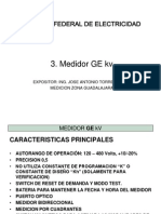 Medidor General Electric