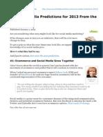 Socialmediaexaminer.com-21 Social Media Predictions for 2013 From the Pros