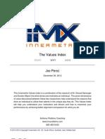 Joe Perez - Assessment Values/Conclusion