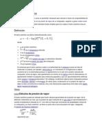 factor acentrico