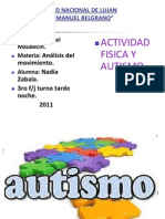 Actividad f+¡sica y autismo
