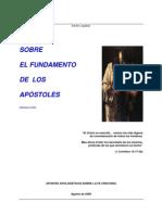 Emilio Lospitao Del Fundamento de Los Apostoles y Ateos Escepticos y Gonsticos