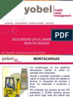 SEGURIDAD EN EL MANEJO DE MONTACARGAS