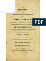 History of the Detection, Conviction, Life and Designs of JOHN A. MUREL, the Great Western Land Pirate