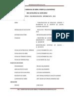 Informe Mensual Del Supervisor