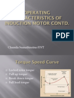 Operating Characteristics of Induction Motor Revised