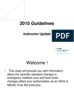 2010 guidelines instructor update