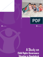 A Study on Child Rights Governance Situation in Bangladesh