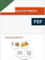 El Contrato de Pemuta y Prenda