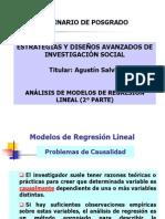 Modelos de regresi+¦n lineal