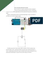 arduino motor DC