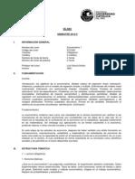PUCP Econometría 1 (ECO261) 0621 (2012-2)