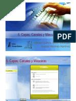 5. Capas en GIMP
