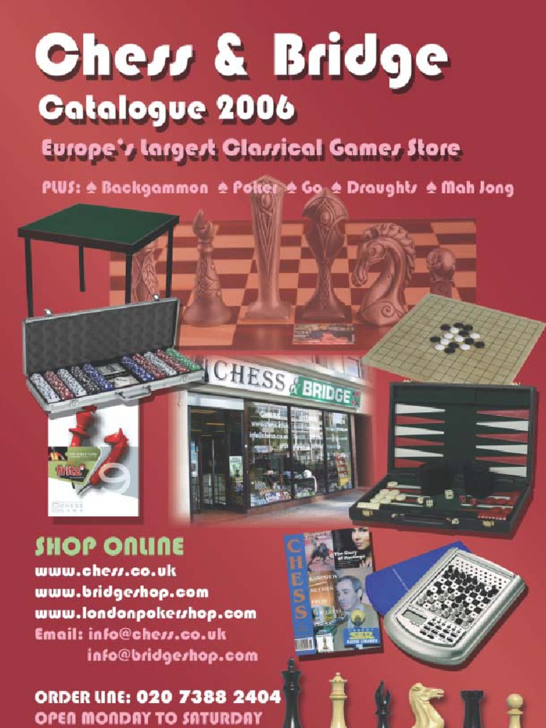 Chess Catalogue 2006 Abstract Strategy Games Four Move Checkmate Diagram