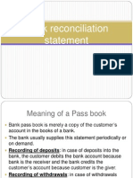 8Bank Reconciliation Statement