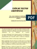 Redacción de Textos Científicos