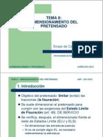 HAP 11 12 T08 DimensionamientoPretensado 2011-2012 2pp