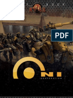 AT-43 Oni Army Book