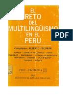 Multilingüismo en el Perú (1972)