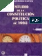 Estudio de la Constitución Política de 1993- Tomo V / Marcial Rubio Correa