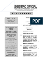Ley Interpretativa del artículo 3 de la Ley Orgánica de Servicio Público