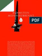Digital Booklet - Mein Herz Brennt