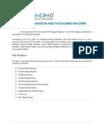 Powder Filling Machine Manufacturer - 4mtechnopac.com