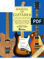 Manual de Guitarra - Ralph Denyer