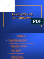 ELECCIONES DE   ALTERNATIVAS