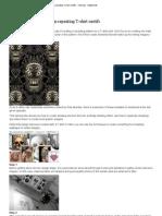 Design Repeating T-Shirt Motifs - Tutorials - Digital Arts