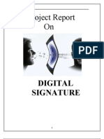 Project Report(Digital Signatures)