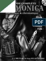 Méthode complète HARMONICA by J.J MILTEAU & Greg SZLAPCZYNSKI