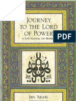 Ibn Arabi Journey to the Lord of Power