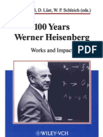 100 Years Werner Heisenberg