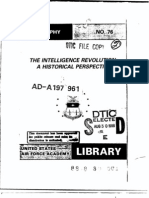 the intelligence revolution.a historical perspective