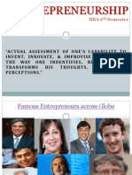 Entreprenurship introduction