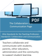 6thecollaborationandcommunicationpagepowerpoint-100806101428-phpapp01