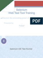 Selinium IDE