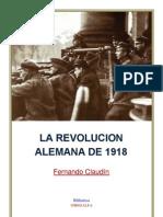 La Revolucion Alemana de 1918