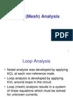 Loop Mesh Analysis