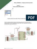 Modul 2 Display Led Dan Input Switch